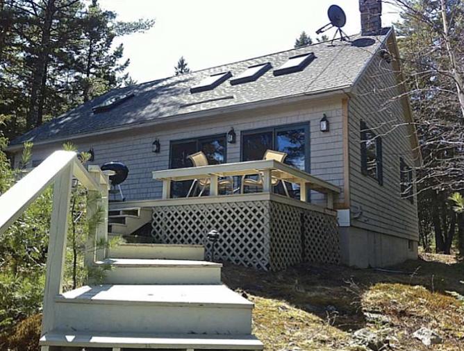 Pine Bluff Hodgdon Pond Seal Cove Maine