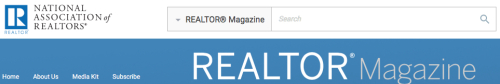 Realtor Magazine Logo and Banner