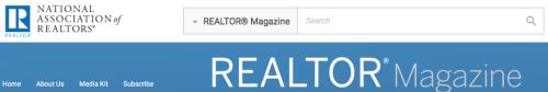 Realtor Magazine Logo and Banner