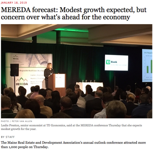 MERDA 2019 Forecast Headline and Photo