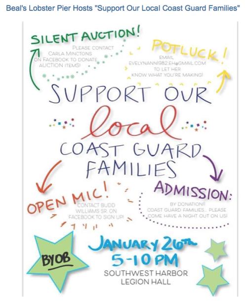 Beals Coast Guard Event