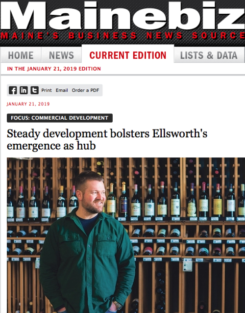 MaineBiz about Ellsworth 1212019