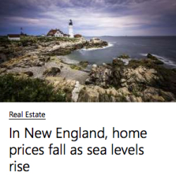 Sea level rise Photo