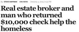 CBS News Homeless Headline