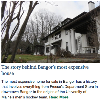BDN Bangor's Most Expensive House