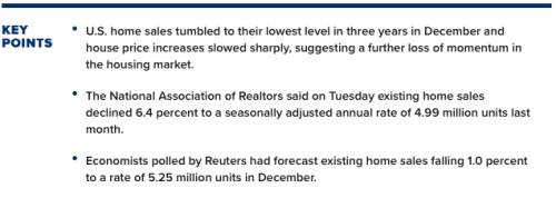 House Sales Tumble Lede 1222019