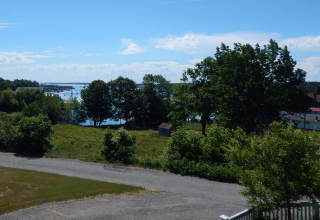 View of Southwest Harbor Maine from 11 Phillips Lane