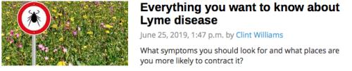 Lyme Disease FAQ