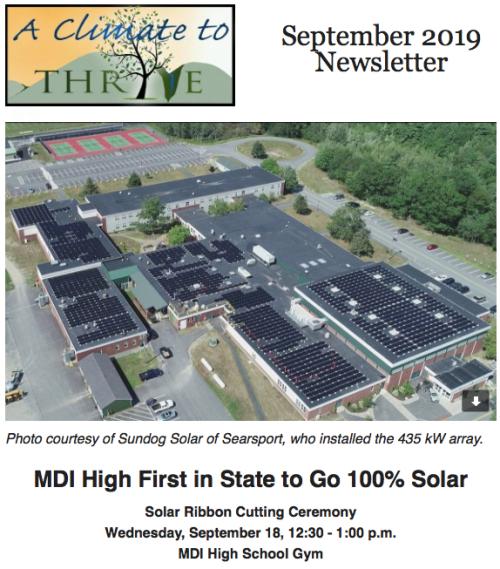 MDIHS Solar Project