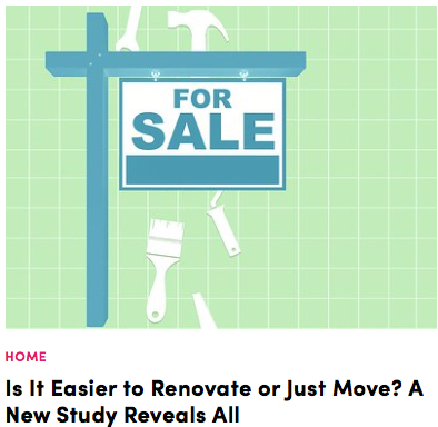 Easier to Renovate or Just Move