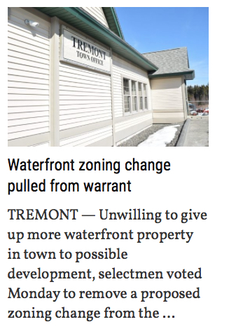 Tremont Zoning Change Removed from Warrant Photo and Lede 3312019