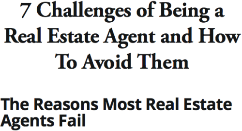 7 Challenges of Being a Real Estate Agent