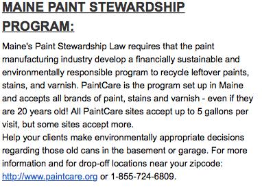 Maine Paint Program 6202019