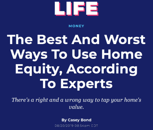 Best and Worst Ways to Use Home Equity