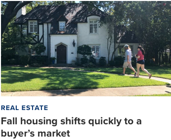 Fall Shifts to Buyers Market