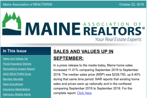MAR September Market Report