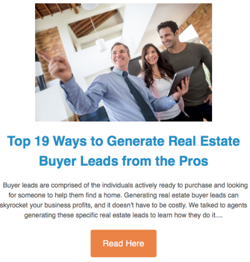 21 Ways to Generate Buyer Leads