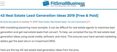 43 Lead Generation Ideas