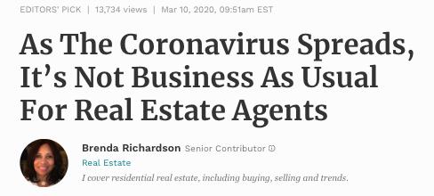CoronaVirus and Real Estate 03102020