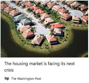 The Housing Market's Next Crisis