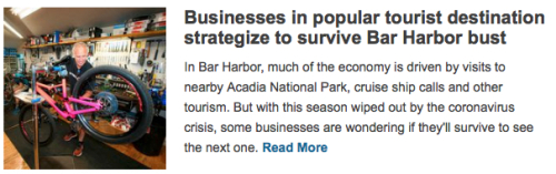 Businesses in Bar Harbor
