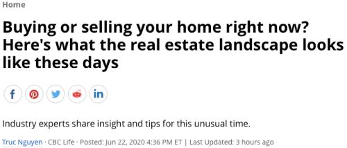Real Estate Landscape 6222020