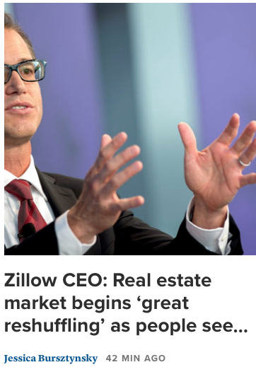 Zillow Great ReShuffling 08072020